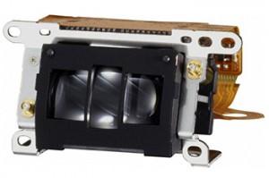 キヤノンの一眼レフ「EOS 5D Mark III」のオートフォーカスセンサー。これがボディの下の方に見込まれています。提供:キヤノン