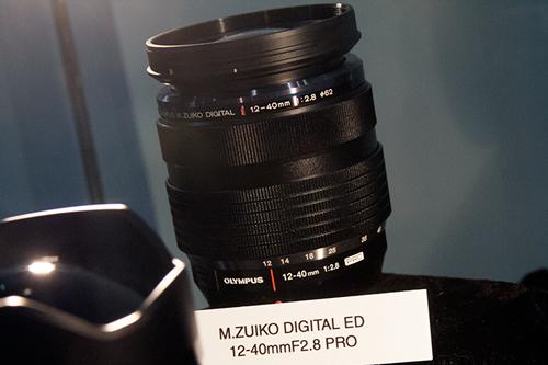 発売中の広角ズーム「M.ZUIKO DIGITAL ED 12-40mmF2.8 PRO」