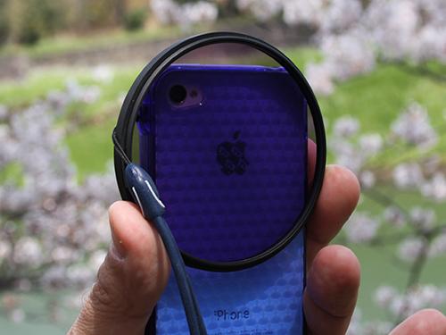 PLフィルターをiPhoneに装着して紅葉を撮影してみた結果